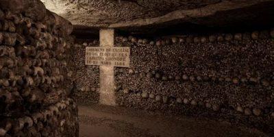 Los túneles para llegar al lugar de la experiencia. Foto:Airbnb