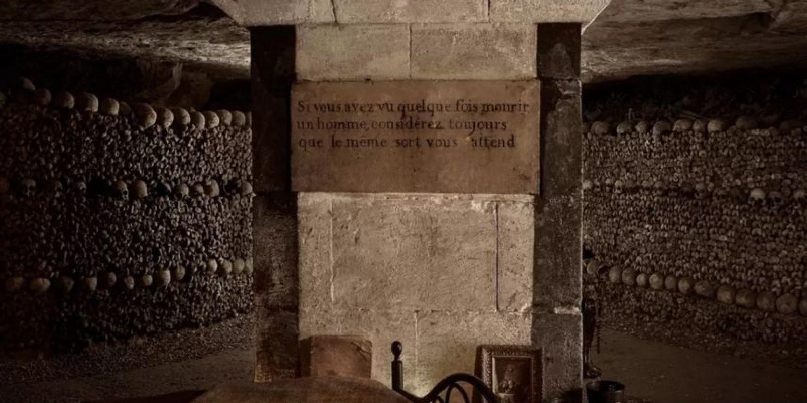 En su interior se practicaban rituales siniestros, como misas negras. Foto:Airbnb