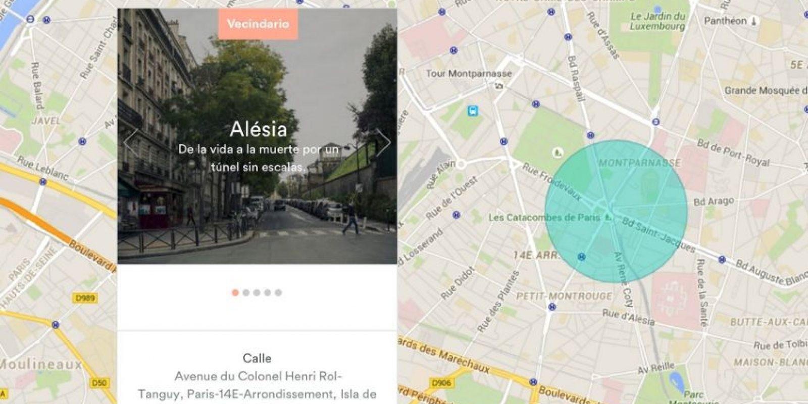 Este es el lugar donde se hospedarán. Foto:Airbnb / Google