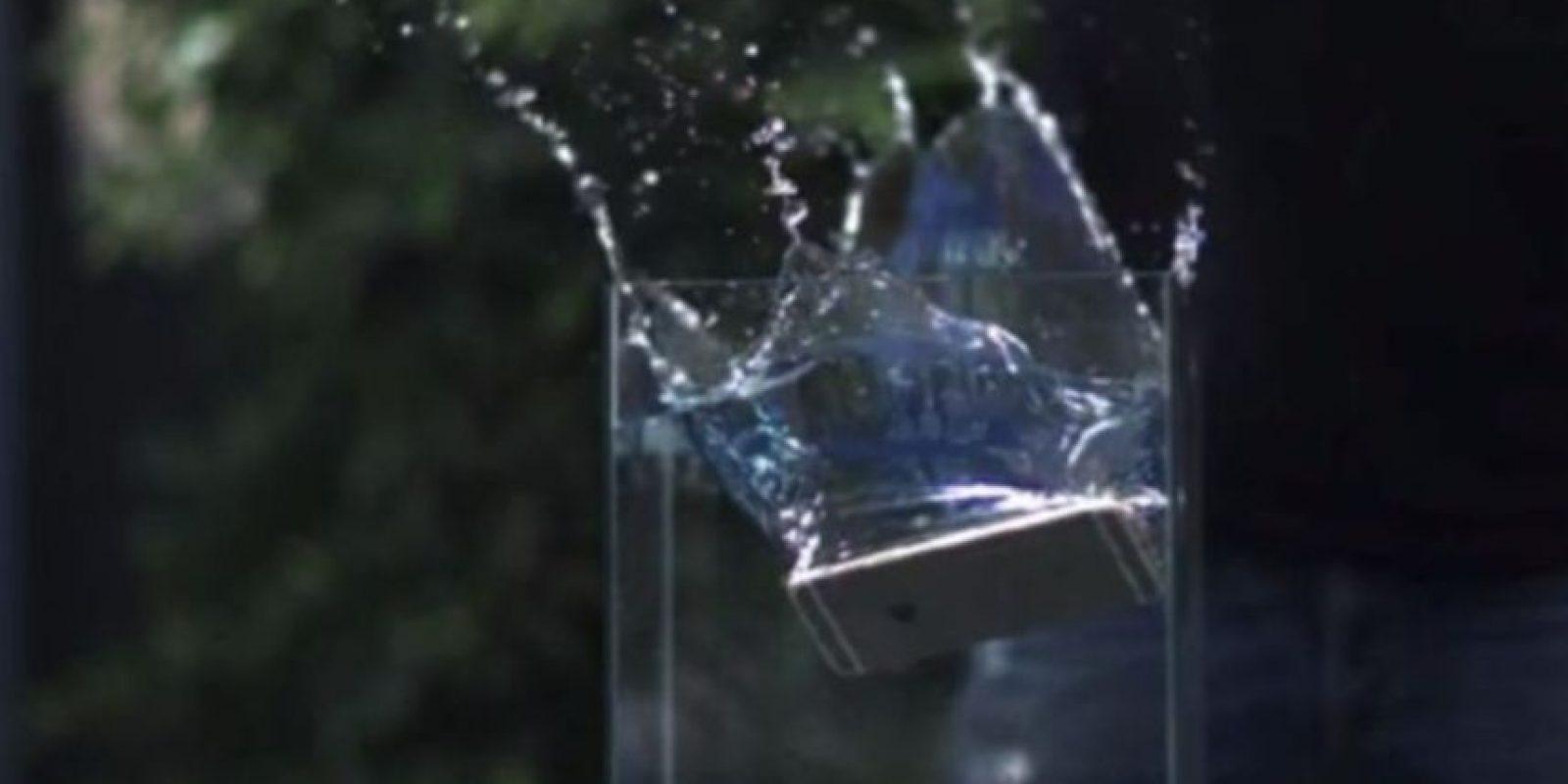 3- Simplemente no pudo ante el agua. Foto:Rated RR / YouTube