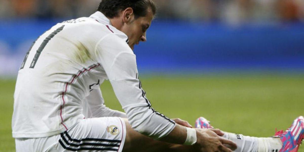 Bale vuelve a sufrir una lesión muscular y no viajará a París