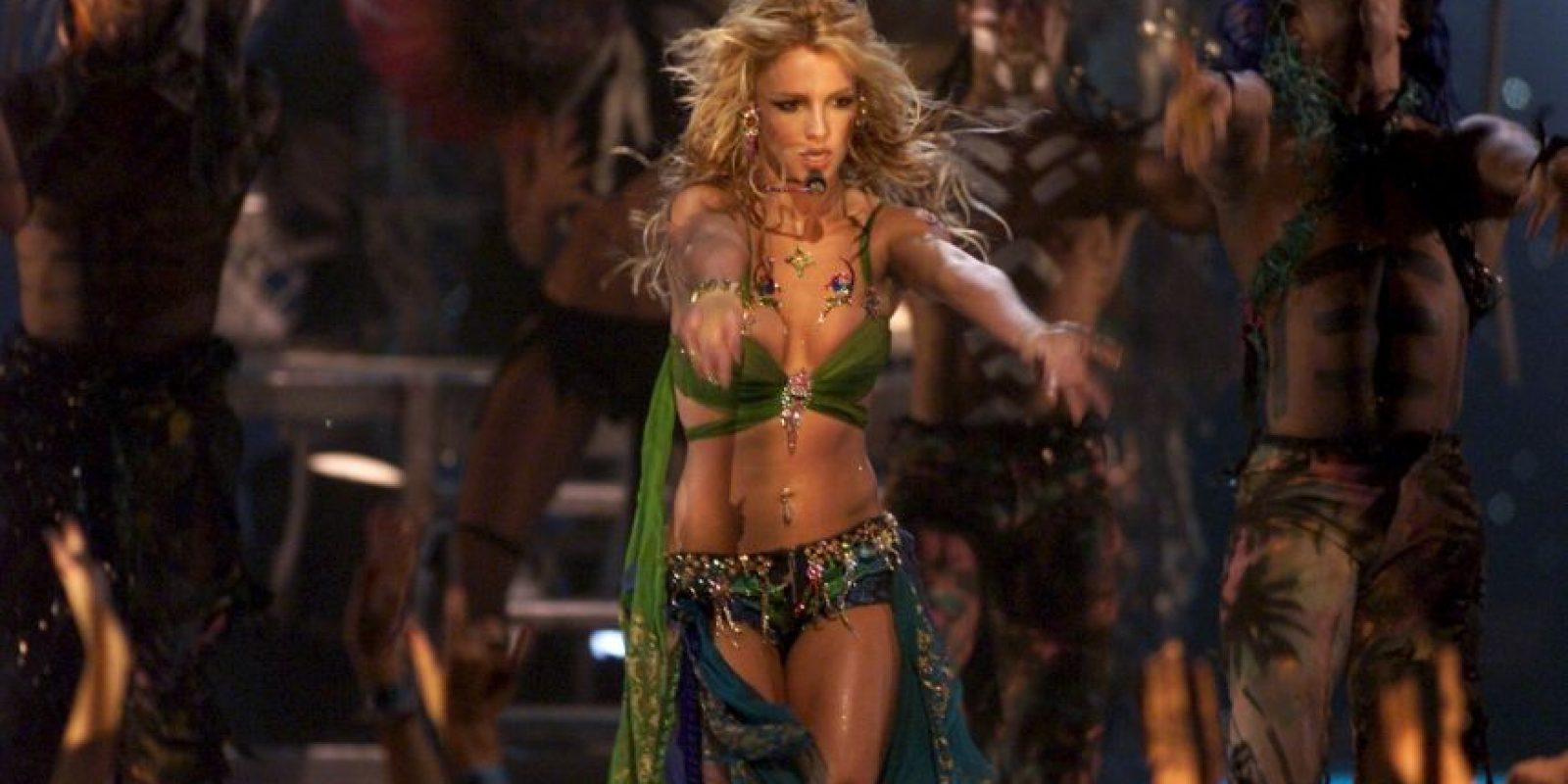 """Además de presentarse con su tour """"Piece of Me"""", Britney se encuentra participando en la serie """"Jane the Virgin"""" Foto:Getty Images"""