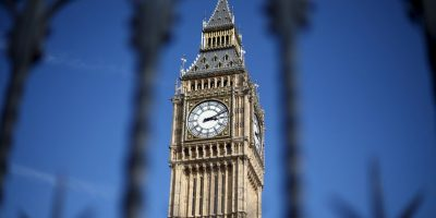 Big Ben situado en el lado noroeste del Palacio de Westminster tiene 156 años. Foto:Getty Images