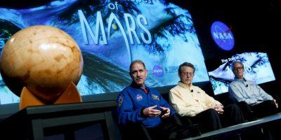 Aunque se descubrió que existió agua líquida en Marte, aún no se han descubierto lagos o mares en el planeta Foto:Getty Images