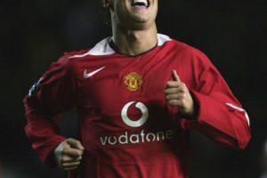 En el verano europeo de 2003, Cristiano Ronaldo fichó por el Manchester United. Foto:Getty Images