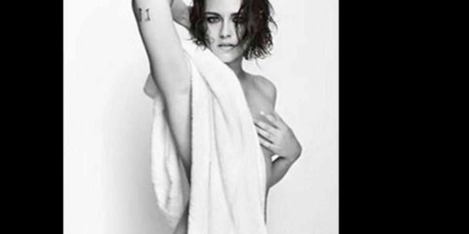 Kristen Stewart es la nueva protagonista de la serie del reputado fotógrafo de moda peruano. Foto:vía Instagram/mariotestino