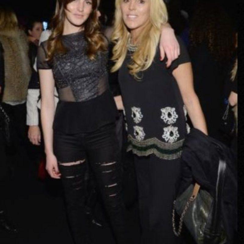 Dina y Alli Lohan Foto:Getty Images