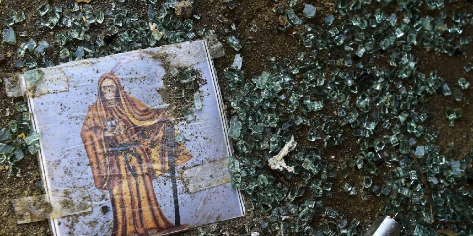 Estas son imágenes del fallido operativo de su captura Foto:AFP