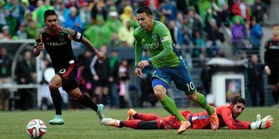 El guatemalteco cumple su tercera temporada con el club de Seattle. Foto:Publinews