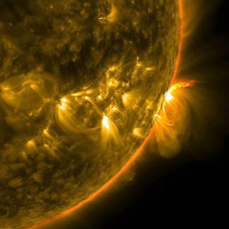 Así se ven las tormentas solares Foto:Instagram.com/NASA