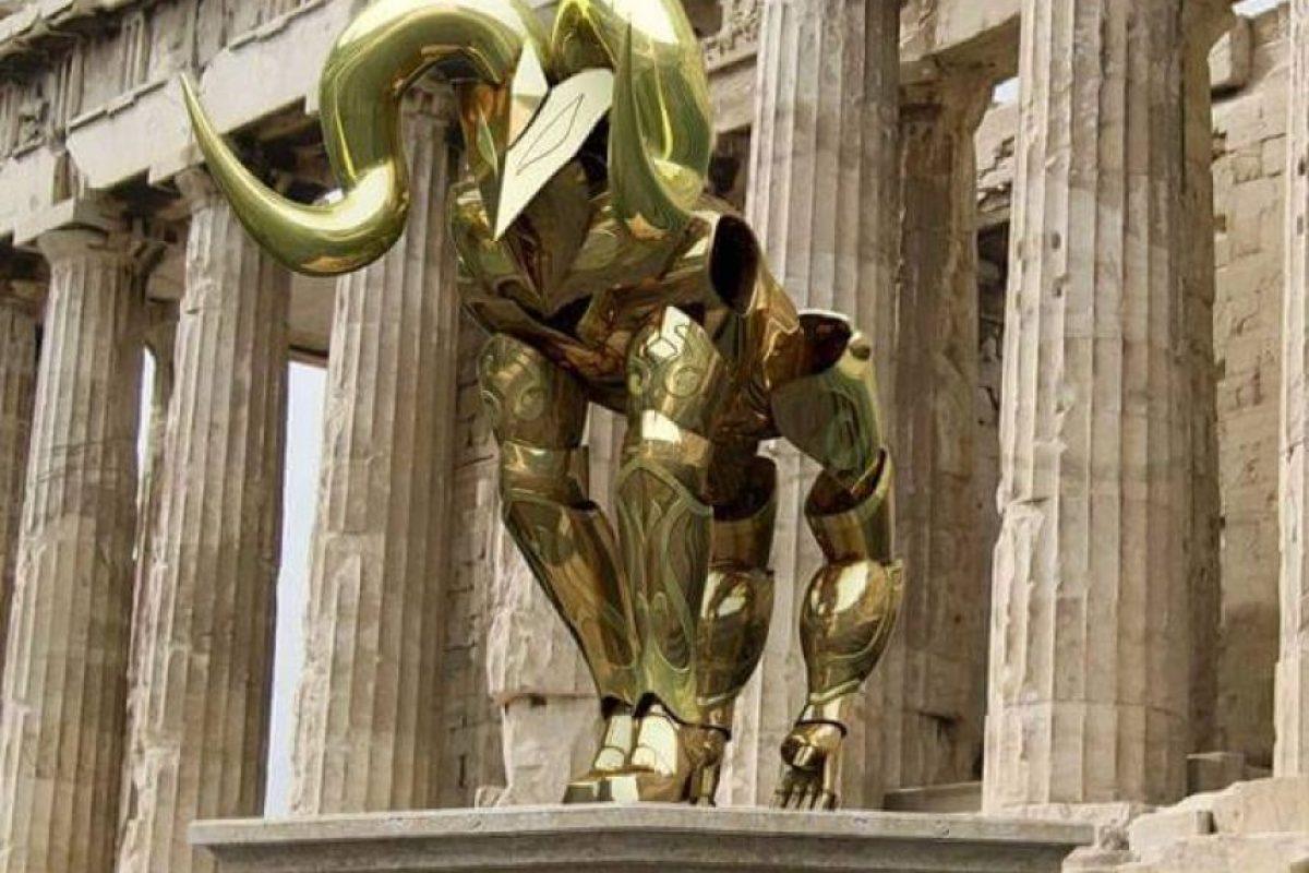 Mu: Caballero guardián de la casa de Aries