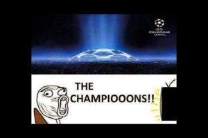 Los usuarios mostraron su emoción por el regreso de la Champions League con estos memes. Foto:Vía twitter.com