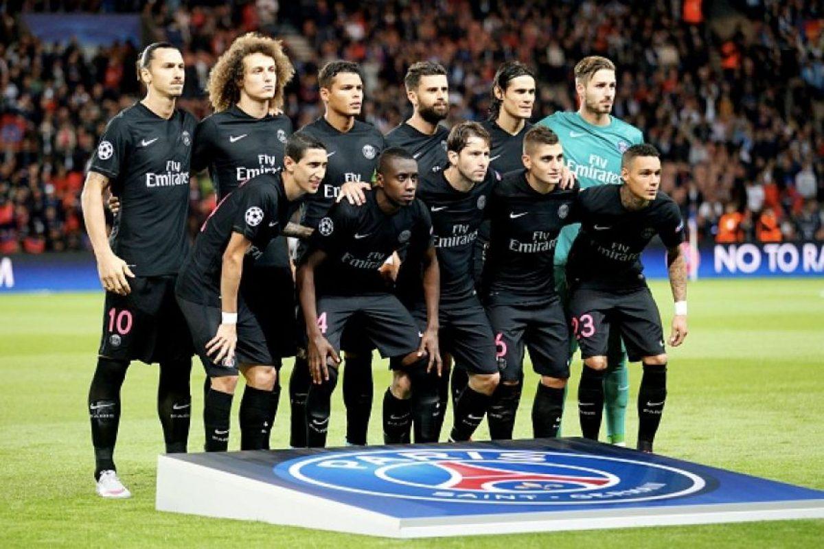 PSG vs. Real Madrid en Parc des Princes, París. Foto:Getty Images