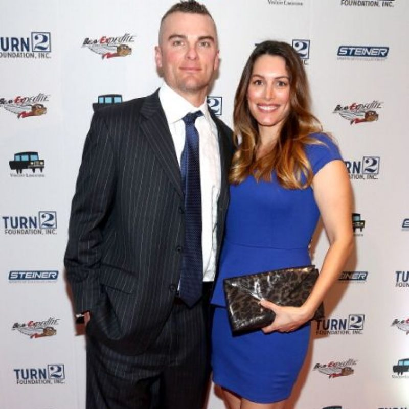 Novia de David Wright, tercera base de los Mets. Foto: Getty Images