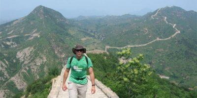 El zip-line les permite una vista privilegiada de la Gran Muralla China Foto:greatwallhiking.com