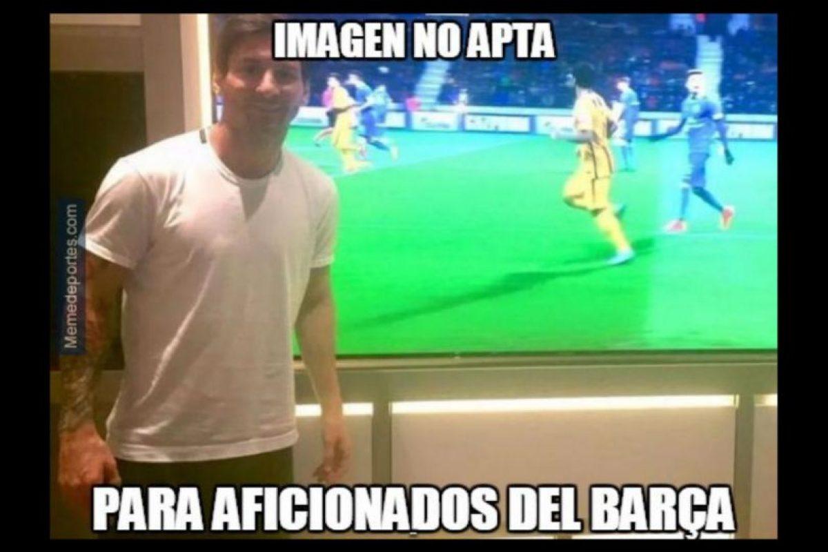 """Messi le """"rompía el corazón"""" a los hinchas culés. Foto:memedeportes.com"""