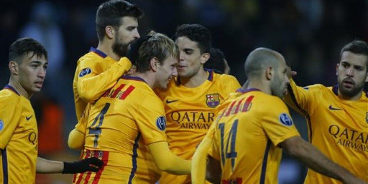 VIDEO. Rakitic se viste de Messi y el Barcelona supera al BATE Borisov