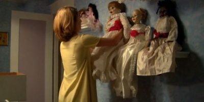 El espíritu maligno aterroriza a cada una de sus víctimas. Foto:Warner Bros.