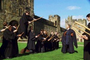 """Al igual que """"Neville"""" en esta escena. Foto:vía facebook.com/harrypottermovie"""