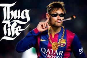 Aunque, Neymar también tuvo una actuación destacada. Foto:Vía twitter.com
