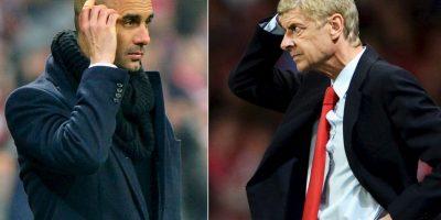 Pep Guardiola y Arsene Wenger se enfrentan en duelo táctico, en el partido más atractivo de este martes en Europa. Foto:Getty Images