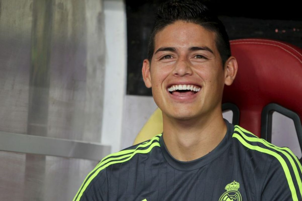 15. James Rodríguez (Real Madrid/Colombia) Foto: Getty Images