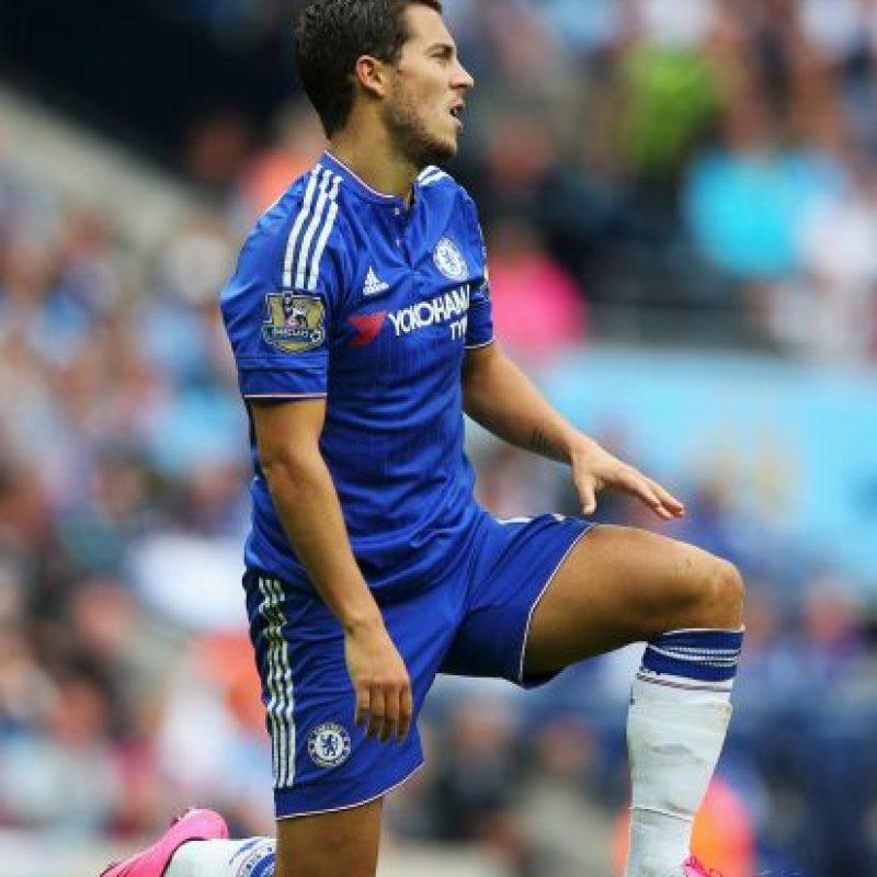 Es un delantero belga que milita en el Chelsea Foto:Getty Images