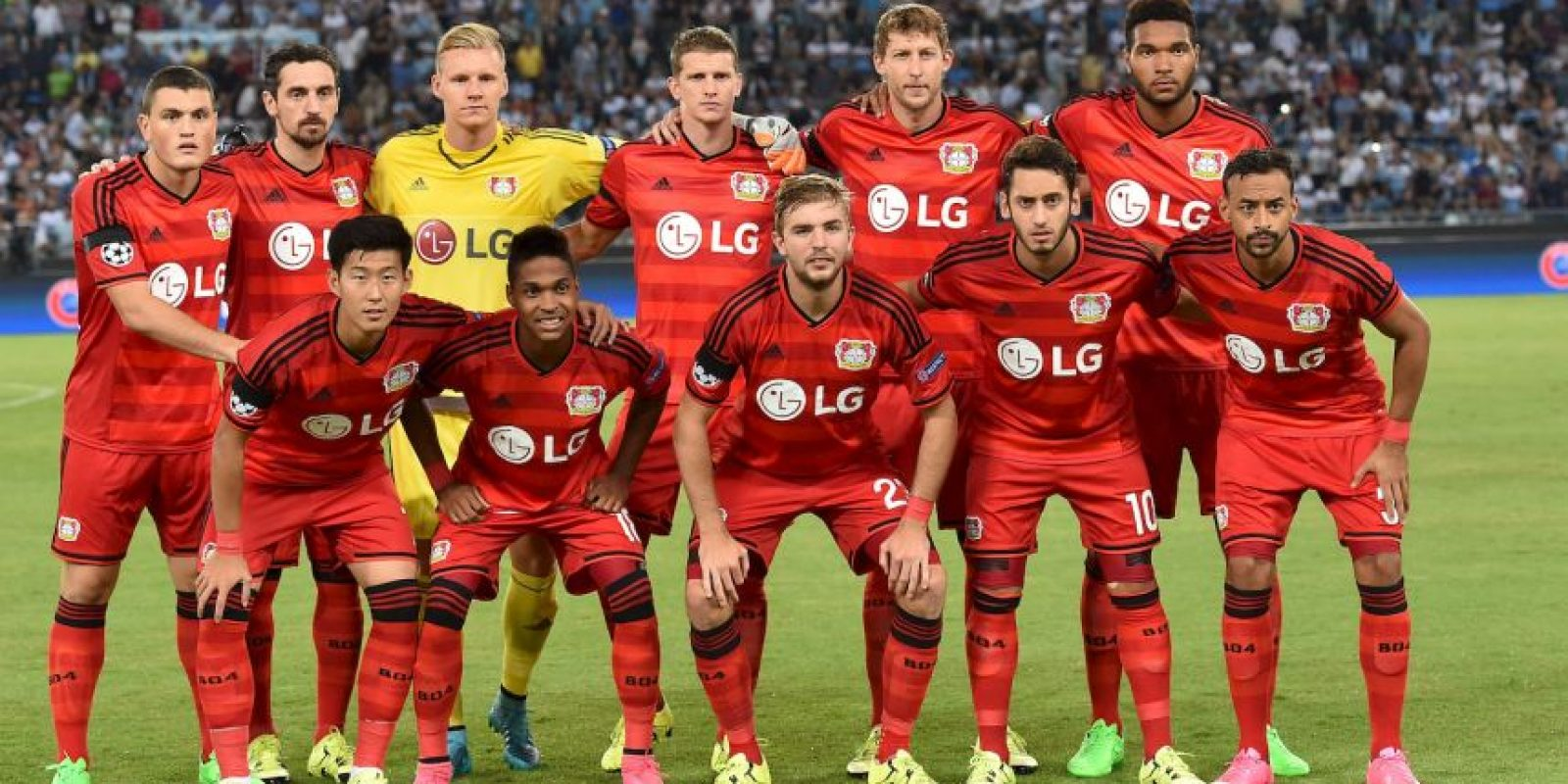 Bayer Leverkusen vs. Roma en Bay Arena, Leverkusen. Foto: Getty Images