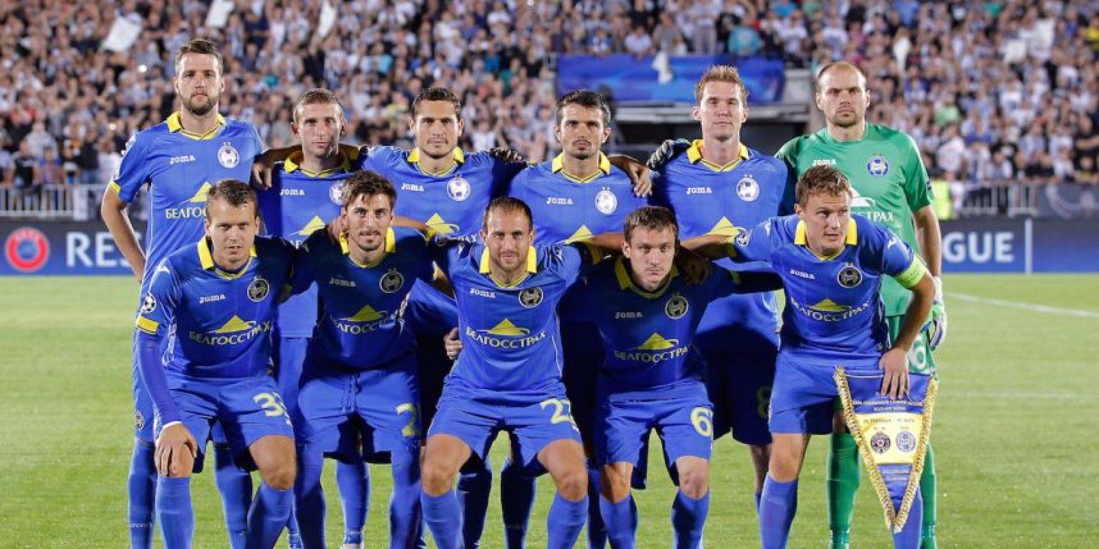 En su liga local (Liga Premier de Bielorrusia), el BATE es líder con 56 puntos, 10 más que el segundo lugar, el Dinamo de Minsk. Foto:Getty Images
