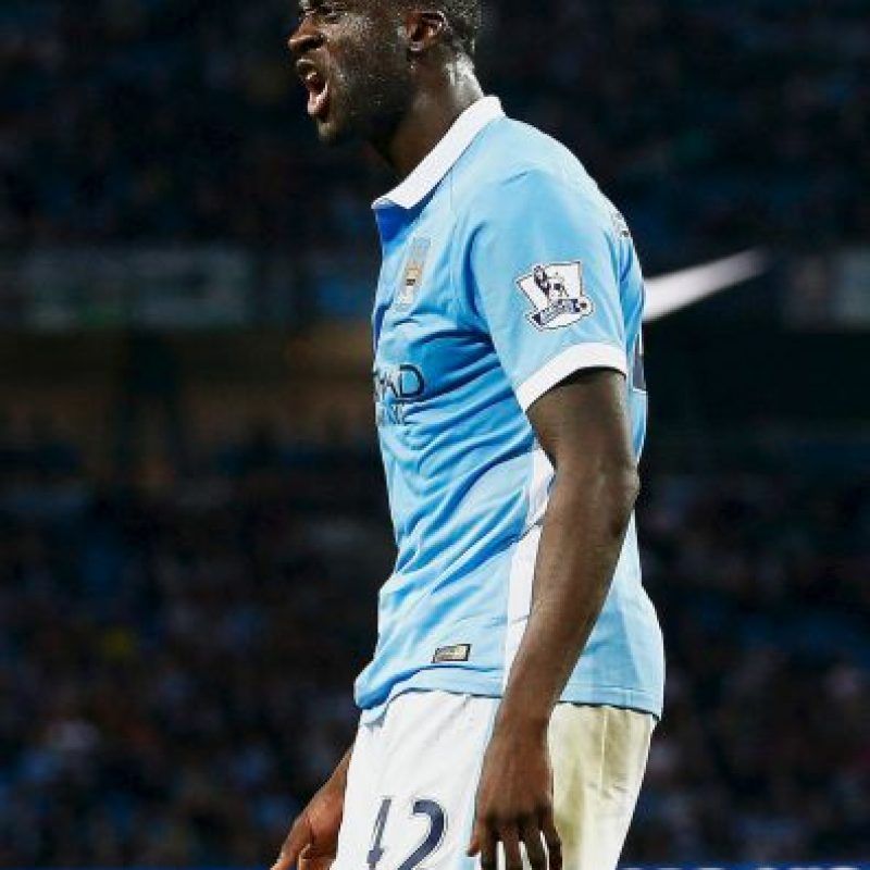 13. Yayá Touré (Manchester City/Costa de Marfil) Foto: Getty Images