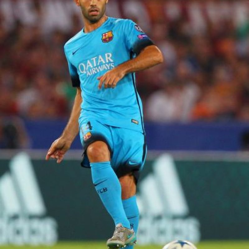 14. Javier Mascherano (Barcelona/Argentina) Foto:Getty Images