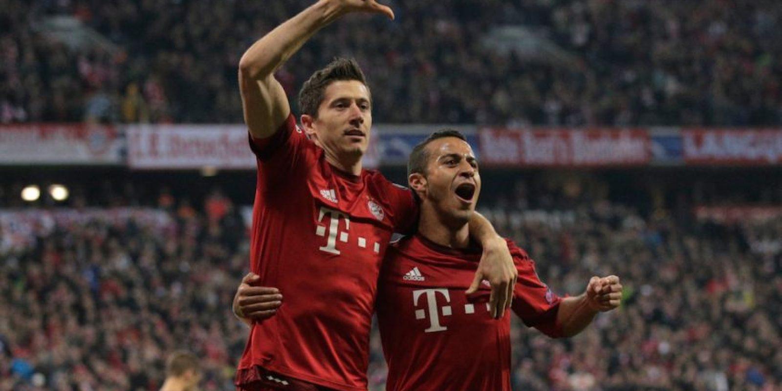 Bayern debutó con una victoria en casa del Olympiacos por 3-0. Foto:Getty Images