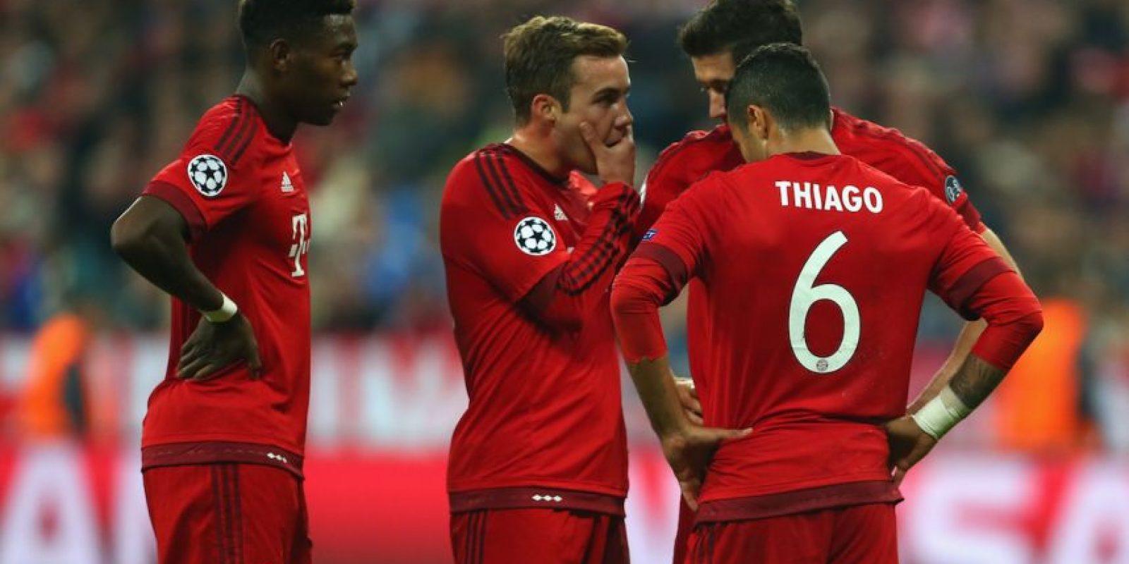 En la segunda fecha recibieron al Dinamo Zagreb en el Allianz Arena y los golearon 5-0. Foto:Getty Images