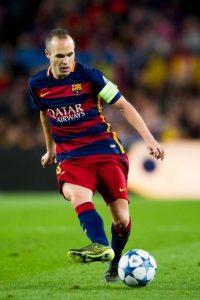 4. Andrés Iniesta (Barcelona/España) Foto:Getty Images