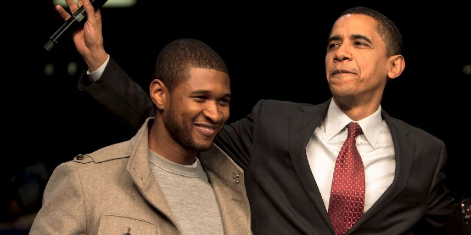 "Usher estaba presente en la Casa Blanca debido a la grabación de ""In Performance at the White House"". Foto: Getty Images"