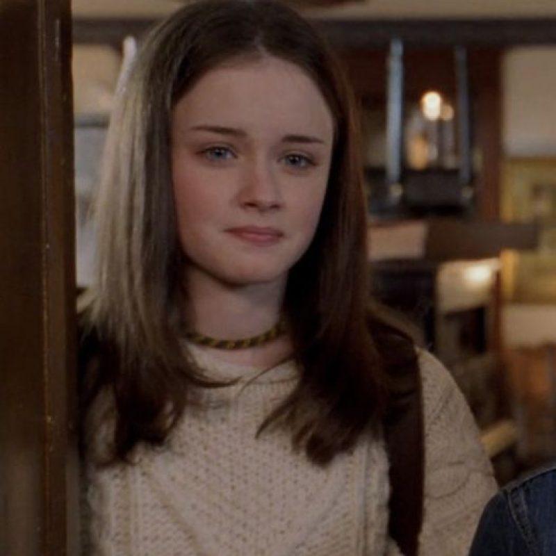 """Alexis Bledel era """"Rory Gilmore"""". Foto:vía The CW"""