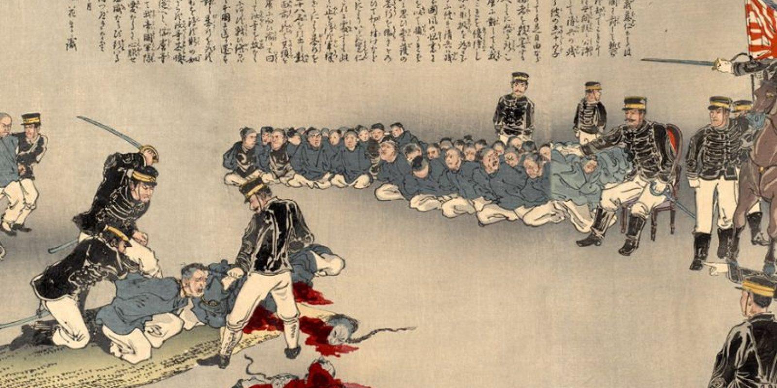 En Japón era la segunda parte del Seppuku, pues un Kaishakunin, segundo que asistía a la persona en el suicidio, ahorraba su agonía. Foto:vía Wikipedia