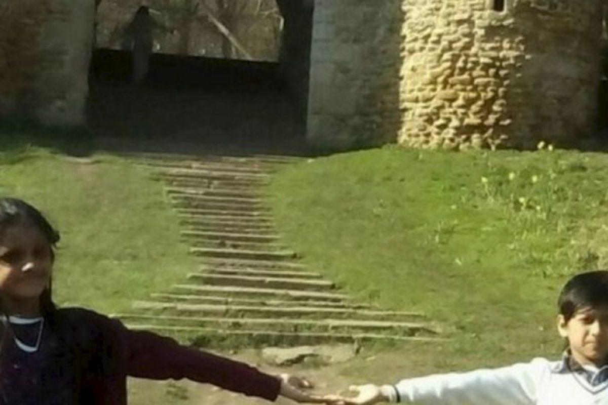 Niños que juegan. Foto:vía Reddit
