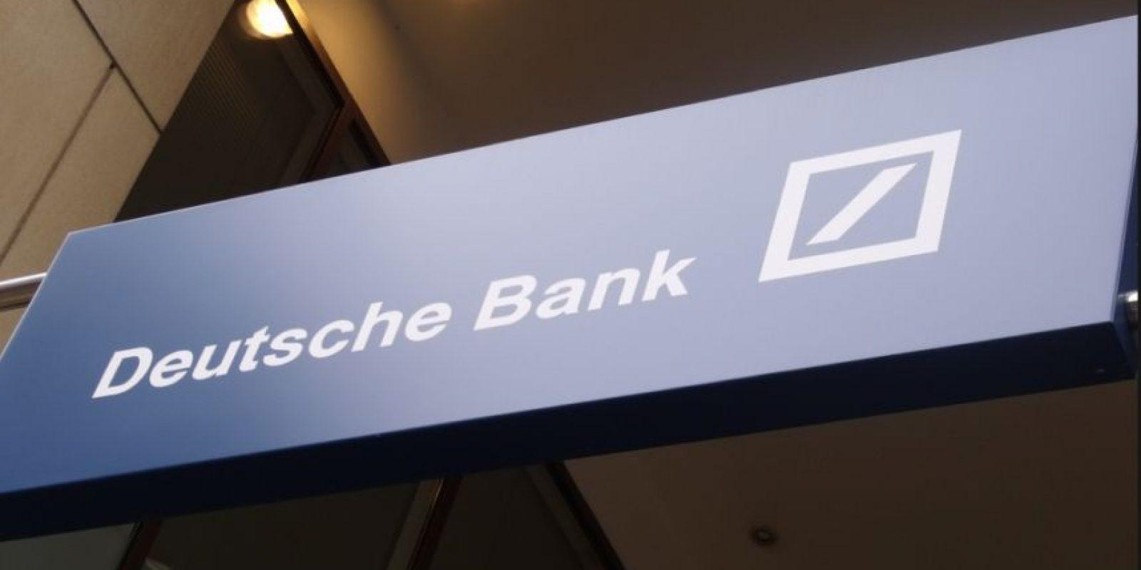 El Deutsche Bank transfirió por error cinco mil 300 millones de euros Foto:Vía flickr
