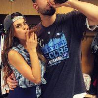 Novia de Eric Hosmer, primera base de los Royals. Foto:Vía instagram.com/kaciemcdonnell