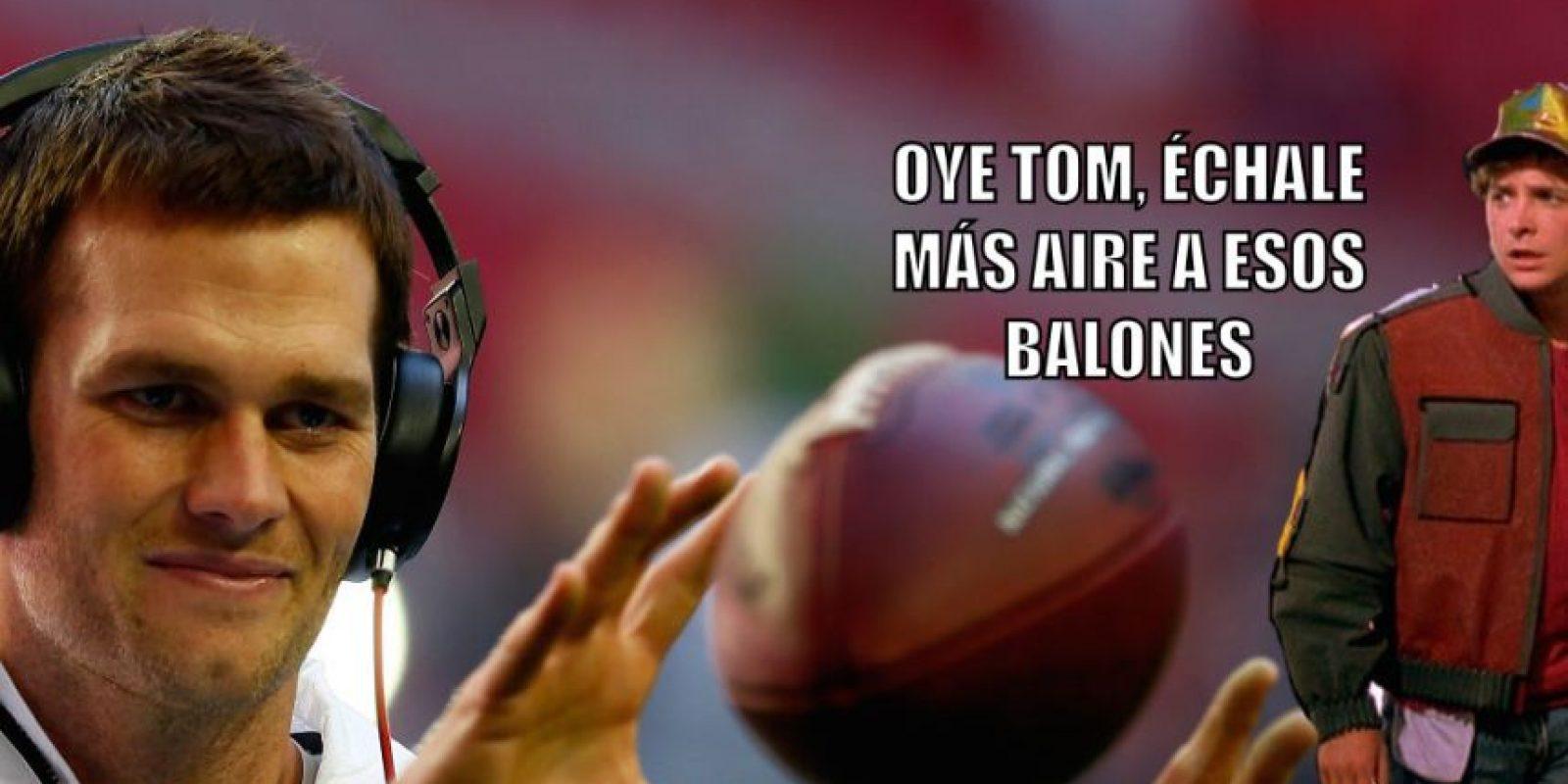 6. Que Tom Brady fuera acusado de hacer trampa por usar balones desinflados rumbo al Super Bowl XLIX. Foto:Getty Images