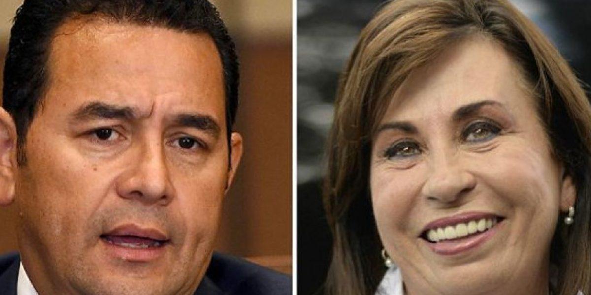 Sandra Torres y Jimmy Morales reafirman su compromiso de no agresión