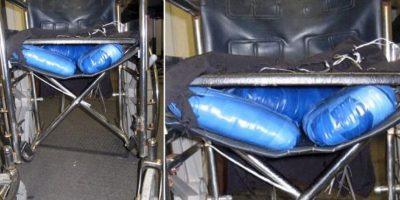 6. En 2011, un joven fue detenido tras fingir ser una persona con discapacidad. En la silla de ruedas transportaba marihuana Foto:Patrulla Fronteriza