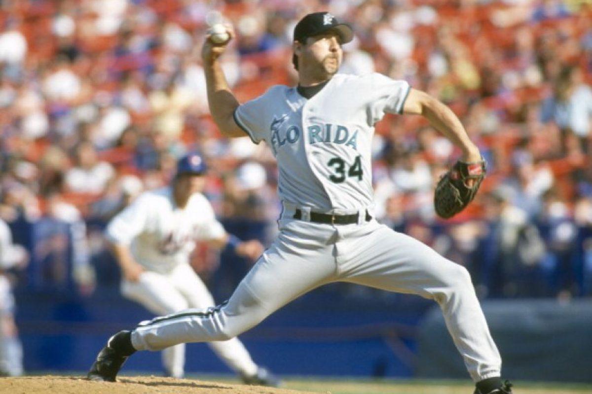 """En 1989, fecha en que se estrenó """"Volver al Futuro II"""", Miami no tenía equipo de béisbol. Tuvo hasta 1993, pero no se llamaron """"Lagartos"""", sino """"Marlines"""" (entonces llamados Florida Marlins). Foto:Getty Images"""