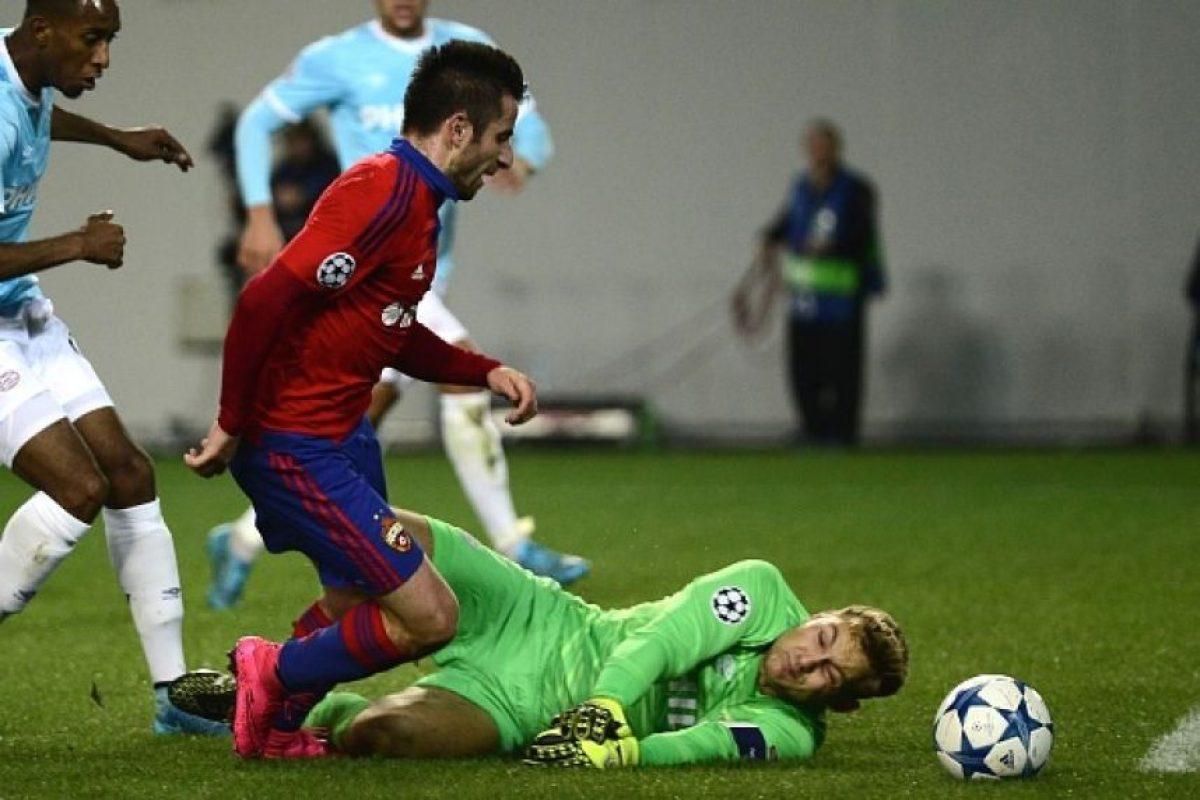 CSKA Moscú recibe la visita de Manchester United en Arena Jimki. Foto:Getty Images
