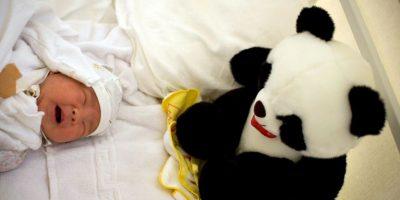 El parto comenzó seis horas después que el avión despegara. Foto:Getty Images