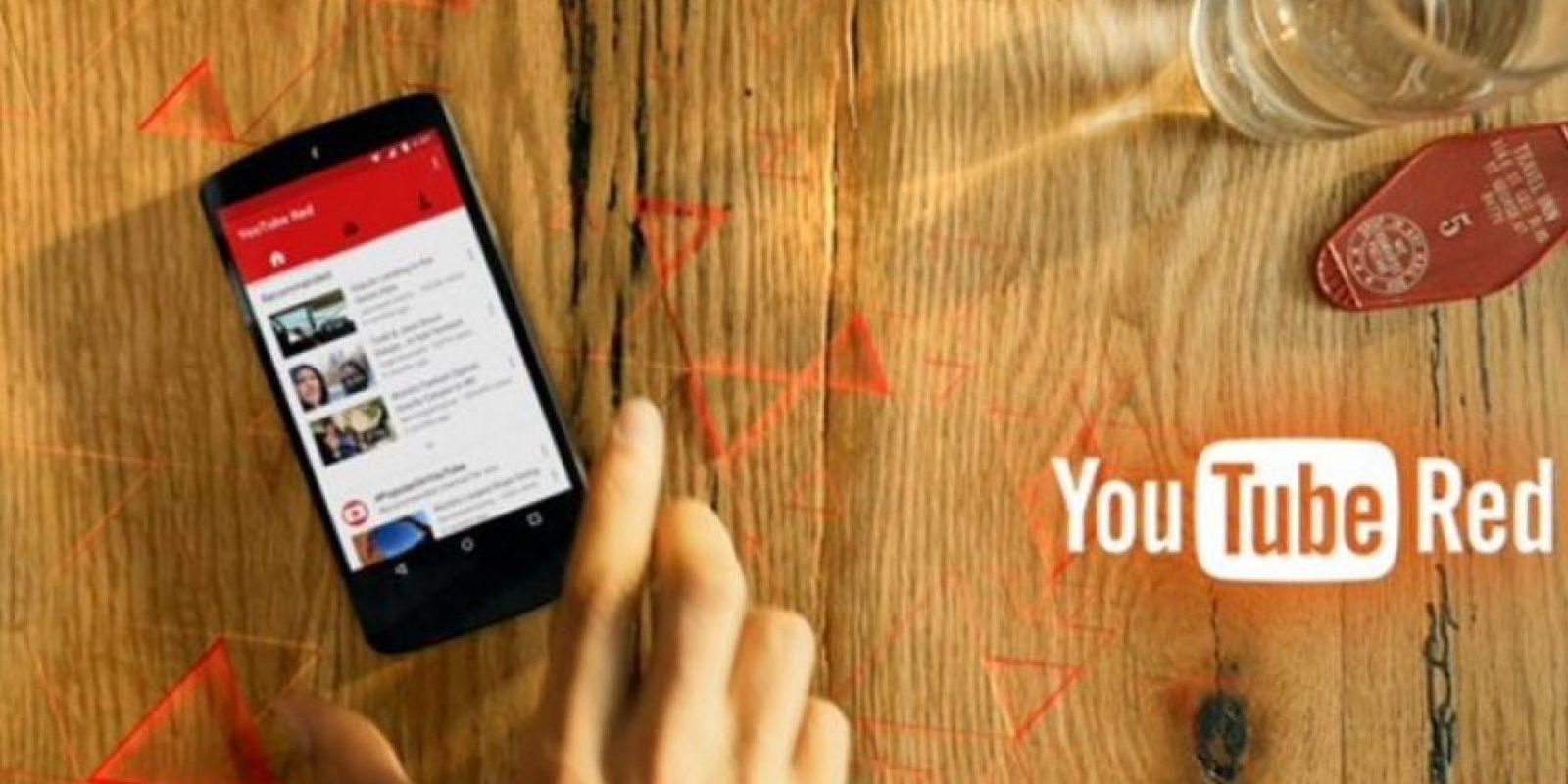 """""""YouTube Red"""" estará disponible próximamente. Foto:YouTube"""