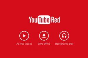 """Los servicios de """"YouTube Red"""": Videos sin anuncios, sin conexión a Internet y en el fondo de la pantalla. Foto:YouTube"""