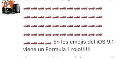 Ferrari color rojo. Foto:Twitter.com
