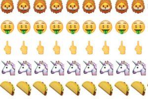 León, dinero, dedo medio, unicornio y tacos. Foto:Twitter.com